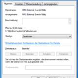 AMD External Events Utility loswerden